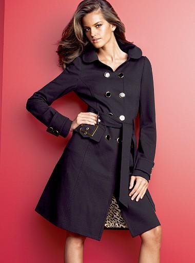 czerny płaszcz