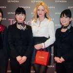Sephora-K Kuncewicz i specjalistki Shiseido z Japonii