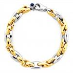 AP21-349 bransoleta złoto szafir_4849pln