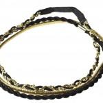 Black & Gold Headwrap Set Ł4.50, 5,95_