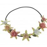 Pale Flower Festival headwrap