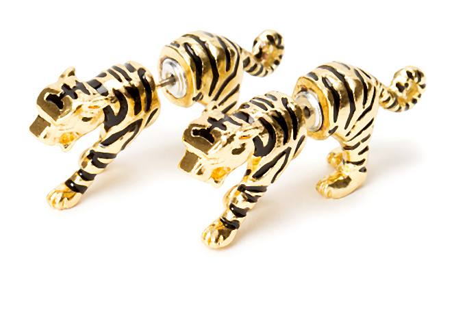 Tiger Back & Front Earrings £6.00 7,99€ 31,90 PLN 12,90CHF-004-2014-04-17 _ 22_05_01-75