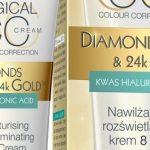 Nawilżająco-rozświetlający CC krem 8w1 DIAMONDS&24kGOLD™