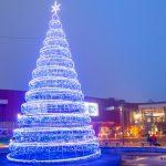 Coraz bliżej Święta! Port Łódź rozbłysnął tysiącami światełek