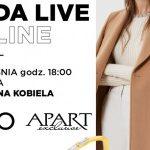 Gdynia: Liu Jo oraz Apart - spotkanie Moda Live Online w Galerii Klif